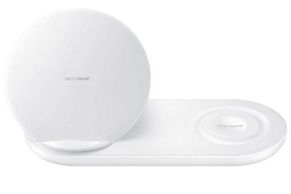 Samsung White Wireless Duo Charger Pad - EP-N6100TWEGUS