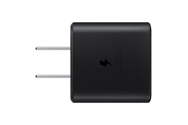 Large image of Samsung 45W USB-C Black Fast Charging Wall Charger - EP-TA845XBEGUS