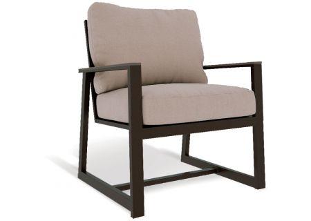 Elements by Castelle Hampton Collection Cushion Lounge Chair - EQE1B51NG31PW003F66B