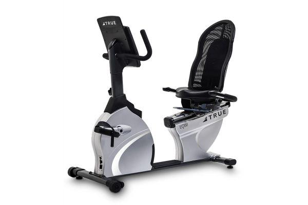 Large image of TRUE ES700 Recumbent Exercise Bike With Emerge Console - ES700R
