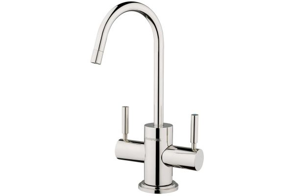 Large image of Everpure Dual-Temp Polished Stainless Steel Faucet - EV900085