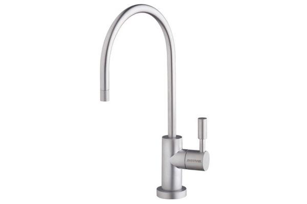 Large image of Everpure Single Temperature Designer Satin Nickel Filtered Faucet - EV997059