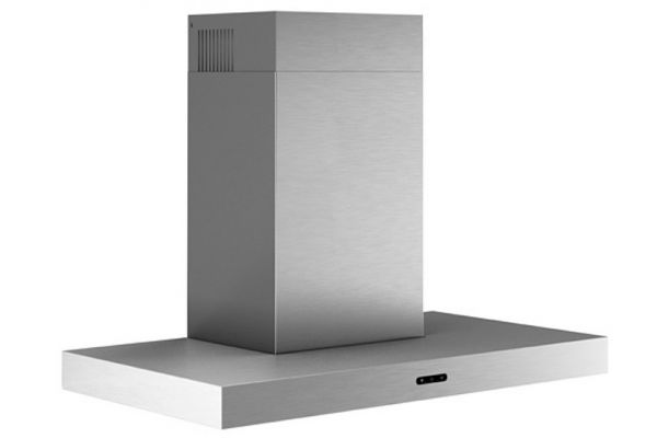 """Large image of Broan 30"""" Stainless Steel T-Style Chimney Hood - EW4330SS"""