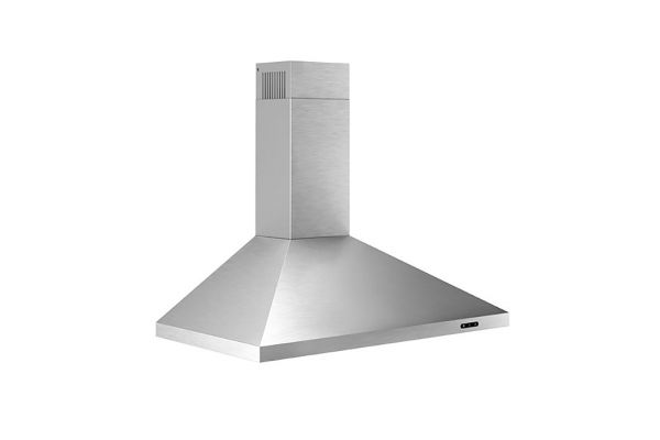 """Broan Elite 30"""" Stainless Steel Convertible Wall Mount Chimney Range Hood With LED Light - EW4830SS"""