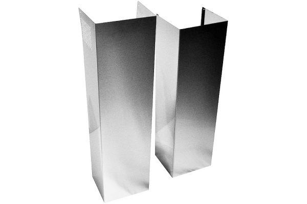 Large image of KitchenAid Stainless Steel Wall Hood Chimney Extension Kit - EXTKIT10ES