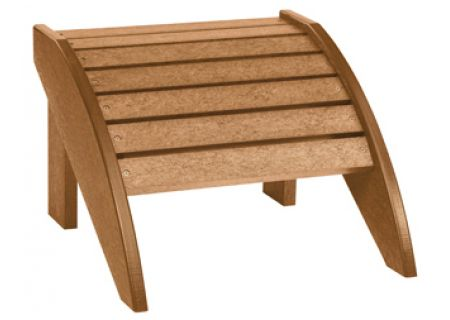 C.R. Plastic Products F01 Cedar Footstool - F01-08
