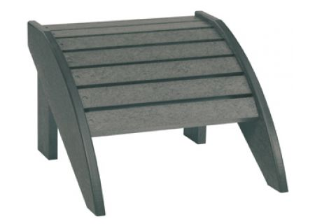 C.R. Plastic Products F01 Slate Grey Footstool - F01-18