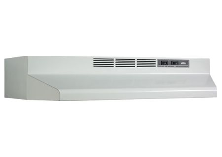 "Broan Economy 40000 Series 36"" White Range Wall Hood - F403601"