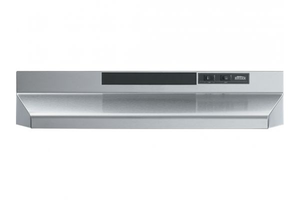 """Large image of Broan 42"""" Stainless Steel Convertible Range Wall Hood - F404204"""