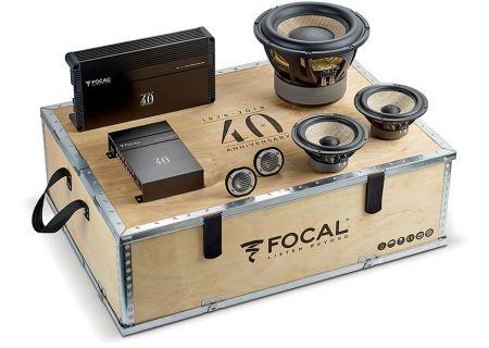 Focal 40th Anversary Car Audio Kit - F-40TH KIT