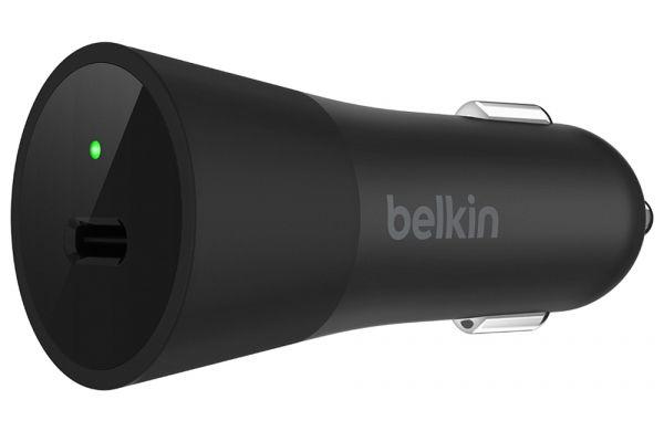 Belkin 36W USB-C Car Charger - F7U013DSBLK