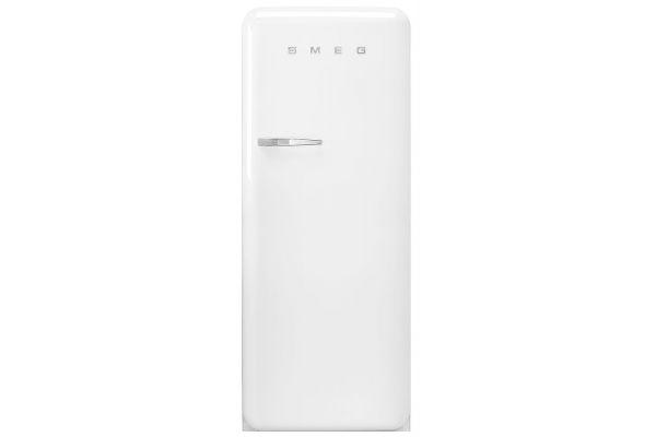 Large image of Smeg 50's Retro Style Aesthetic Right-Hinge White Refrigerator - FAB28URWH3