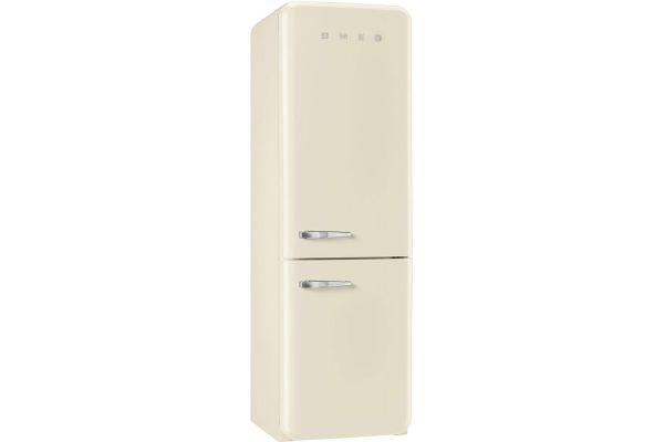 Smeg 50s Retro Style Aesthetic Right Hinge Cream Refrigerator - FAB32UCRRN