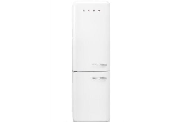 Smeg 50s Retro Style Aesthetic Left Hinge White Refrigerator - FAB32ULWH3