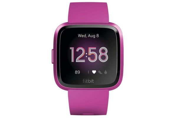 Fitbit Versa Lite Edition Mulberry Smartwatch - FB415PMPM