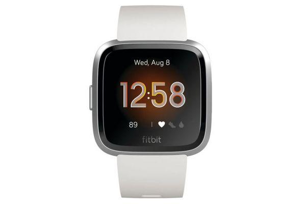 Fitbit Versa Lite Edition White & Silver Smartwatch - FB415SRWT