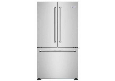 BlueStar 36 Stainless Steel Counter Depth French Door Refrigerator
