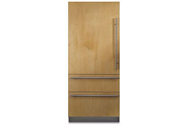 "Large image of Viking 7 Series 36"" Custom Panel Left-Hinge Built-In Bottom-Freezer Refrigerator - FBI7360WL"
