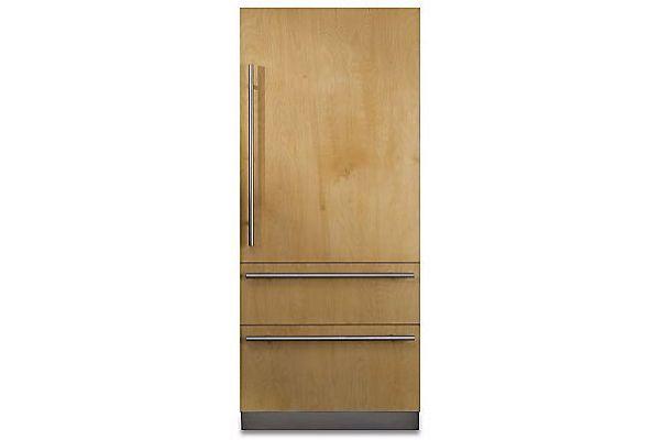 "Large image of Viking 7 Series 36"" Custom Panel Right-Hinge Built-In Bottom-Freezer Refrigerator - FBI7360WR"
