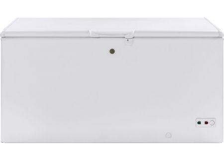 GE 15.7 Cu. Ft. White Manual Defrost Chest Freezer - FCM16SLWW