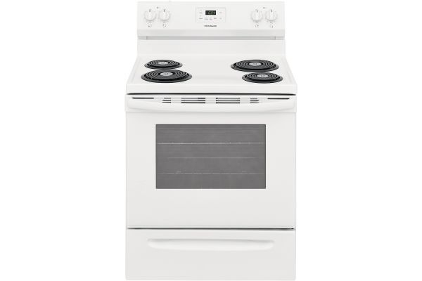 "Large image of Frigidaire 30"" White Freestanding Electric Range - FCRC3012AW"