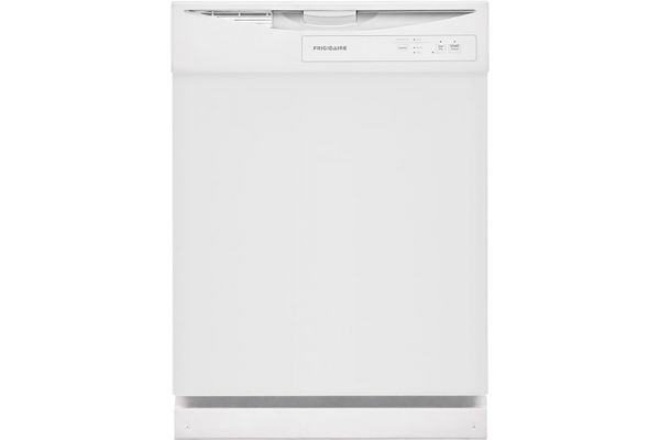 "Large image of Frigidaire 24"" White Built-In Dishwasher - FDPC4221AW"