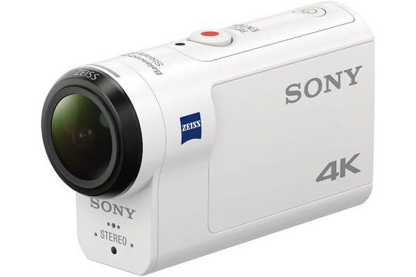 Sony White 4K Action Camera - FDR-X3000