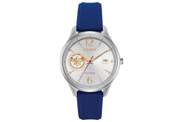 Large image of Citizen Eco-Drive Blue Captain Marvel Watch - FE6101-05W