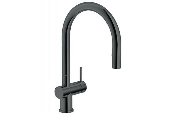Large image of Franke Active Neo Gun Metal Faucet - FF3940