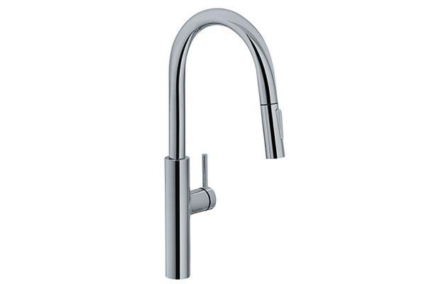 Large image of Franke Pescara Satin Nickel Faucet - FF4880