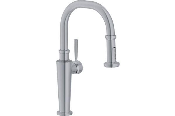 Franke Absinthe Satin Nickel Pull Down Faucet - FF5280
