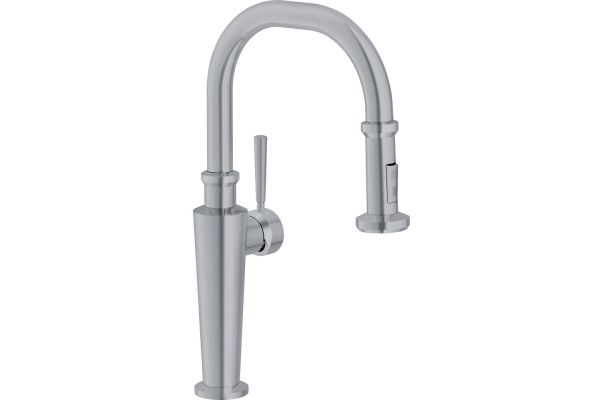 Large image of Franke Absinthe Satin Nickel Pull-Down Faucet - FF5280