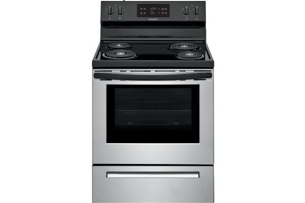 """Large image of Frigidaire 30"""" Stainless Steel Electric Range - FFEF3016VS"""
