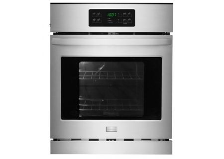 """Frigidaire 24"""" Stainless Steel Single Electric Wall Oven  - FFEW2425QS"""