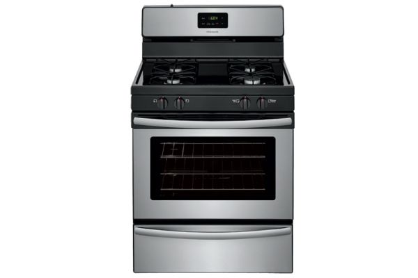 """Frigidaire 30"""" Stainless Steel Freestanding Gas Range - FFGF3016TS"""