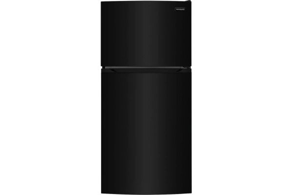 Large image of Frigidaire 13.9 Cu. Ft. Black Top Freezer Refrigerator - FFHT1425VB