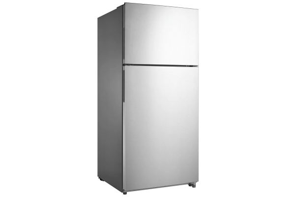Large image of Frigidaire 18 Cu. Ft. Stainless Steel Top-Freezer Refrigerator - FFHT1824US