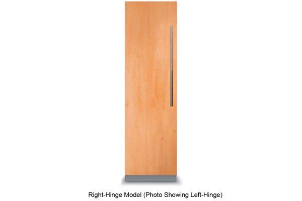 "Large image of Viking 7 Series 18"" Custom Panel Right-Hinge Fully Integrated All Freezer - FFI7180WR"