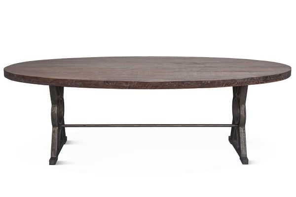 """Home Trends & Design French Market 94"""" Oval Dining Table - FFM-DT94O"""