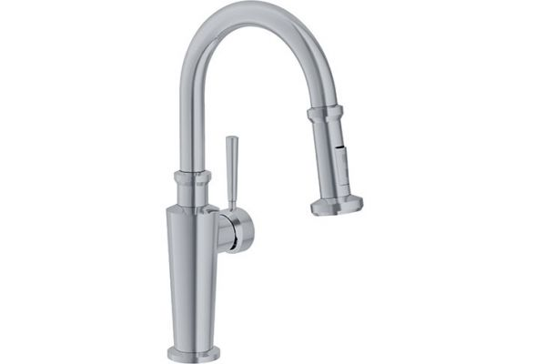 Large image of Franke Absinthe Satin Nickel Faucet - FFP5280