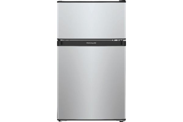 Large image of Frigidaire 3.1 Cu. Ft. Silver Mist Compact Refrigerator - FFPS3133UM
