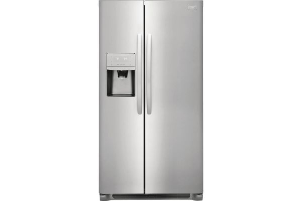 Large image of Frigidaire Stainless Steel Side-By-Side Counter Depth Refrigerator - FFSC2323TS