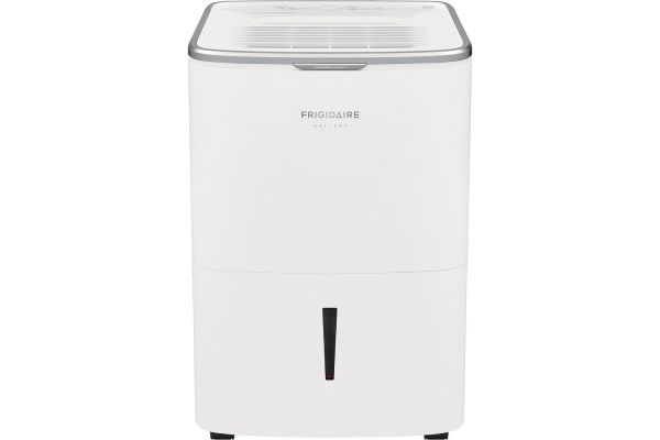 Large image of Frigidaire Gallery High Humidity 50 Pint Capacity White Dehumidifier With Wi-Fi - FGAC5044W1