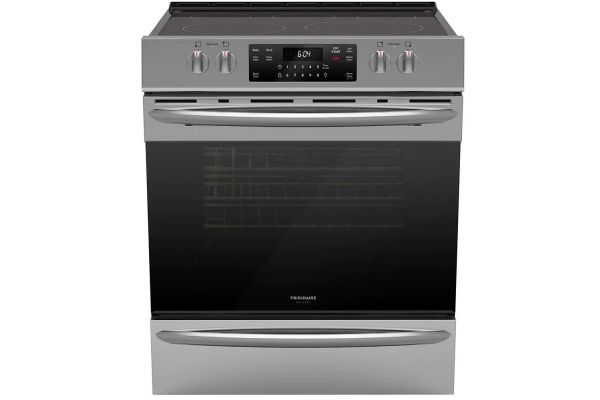 "Frigidaire Gallery 30"" Stainless Steel Front Control Electric Range with Air Fry - FGEH3047VF"