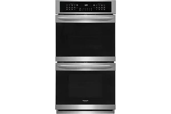 """Large image of Frigidaire Gallery 27"""" Stainless Steel Double Electric Wall Oven - FGET2766UF"""