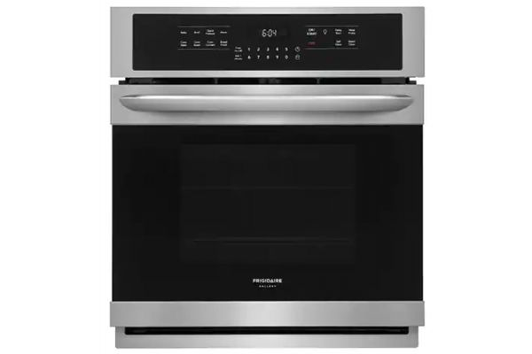 "Large image of Frigidaire Gallery 27"" Smudge-Proof Stainless Steel Single Electric Wall Oven - FGEW2766UF"
