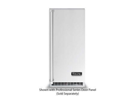 "Viking 15"" Panel Ready Outdoor Undercounter/ Freestanding Ice Machine - FGIM515"