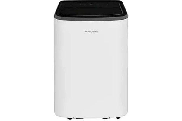 Large image of Frigidaire 10,000 BTU 9.7 EER 115V White Portable Room Air Conditioner With Dehumidifier Mode - FHPC102AB1