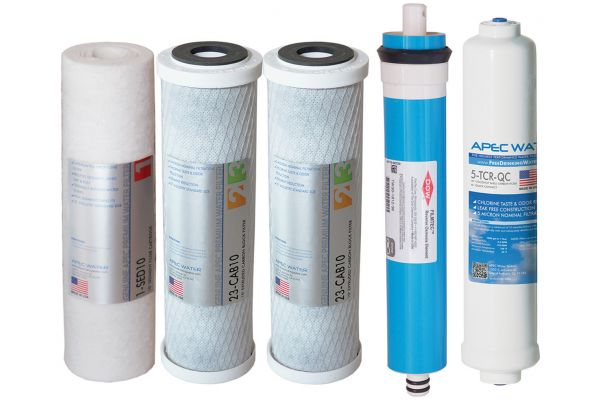 Large image of APEC Water Ultimate High Flow 5-Stage High Capacity Filter Set - FILTER-MAX90