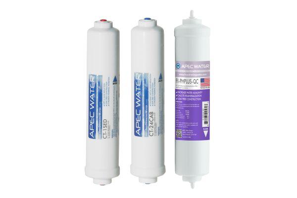 Large image of APEC Water Pre-Filter Set Countertop Reverse Osmosis System - FILTER-SET-CTOP-PH